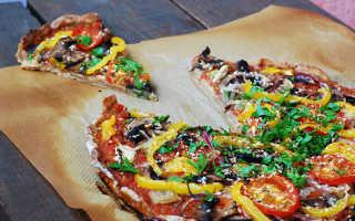 Диетическая пицца рецепт