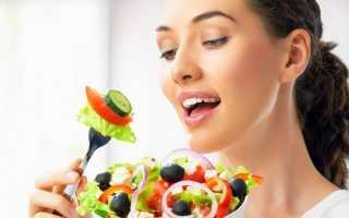 Витаминно белковая диета меню