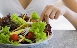 Состав диеты малышевой