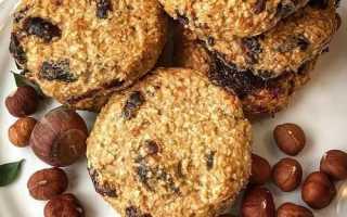 Печенье из овсянки диетическое рецепт