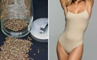 Рецепт гречневой диеты для похудения на неделю