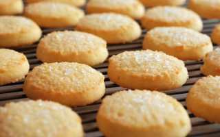 Калорийность песочного печенья