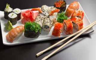 Сколько калорий в суши филадельфия