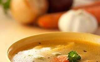 Мясной бульон калорийность