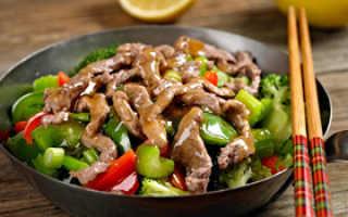 Китайская диета на 14 дней меню