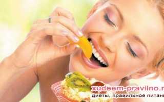 Рецепт похудения за неделю