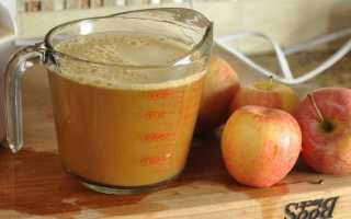 Калорийность яблочного сока