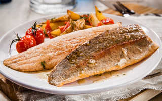 Жареная рыба калории