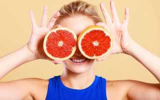 Грейпфрутовая диета на 3 дня