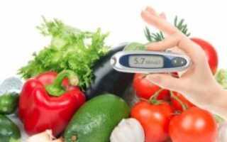 Диета для диабетиков на неделю