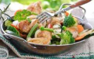 Диетические мясные блюда