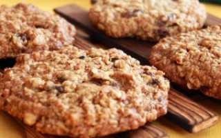 Сколько калорий в овсяных печеньях