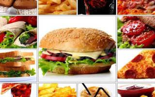 Что нельзя есть при диете для похудения