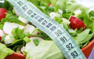 Как рассчитать калории на день для похудения