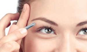 Коррекция бровей – как правильно выщипывать брови
