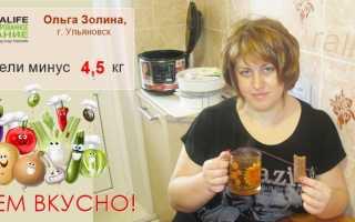 Рецепты гербалайф похудения