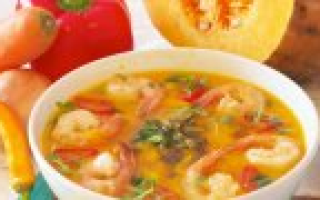 Сколько калорий в курином супе с лапшой