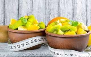 Диетический фруктовый салат рецепт