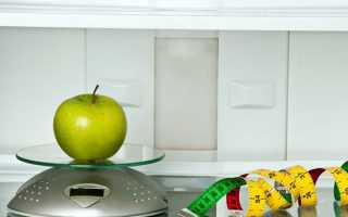 Диета считать калории таблица меню
