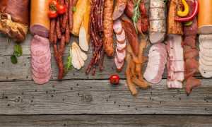 Колбаса сырокопченая калорийность на 100 грамм