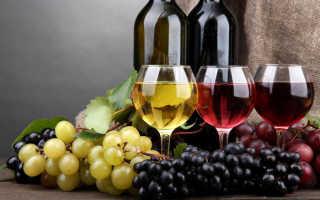 Калорийность красного сухого вина