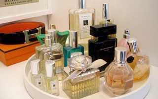 Особенности хранения парфюмерии