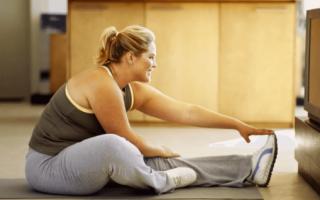 Зарядка для похудения в домашних