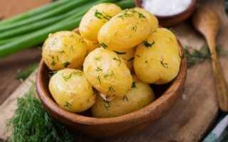 Калорийность вареной картошки без кожуры