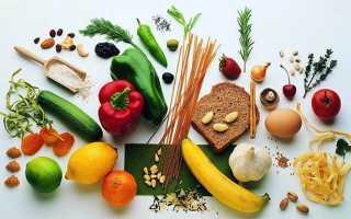 Противохолестериновая диета меню на неделю