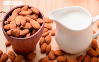 Миндальное молоко калорийность
