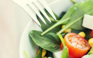 Питание при ожирении меню на каждый день
