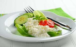 Творожная диета магги на 2 недели меню