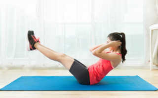 Упражнения для похудения дома для девушек