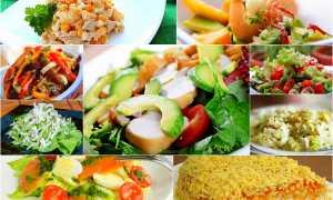 Раздельное питание рецепты блюд