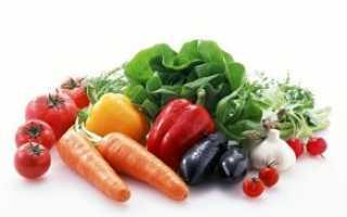 Овощи на пару калорийность на 100 грамм
