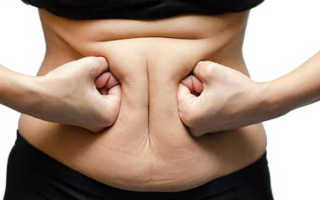 Как убрать жир снизу живота