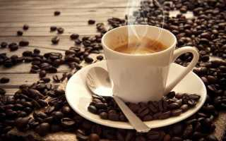 Калорийность кофе без сахара