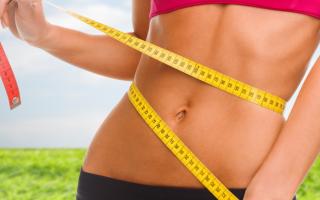 Простая диета для похудения живота и боков