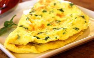 Омлет из 3 яиц калорийность
