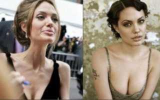 Анджелина джоли похудела до 37 кг фото