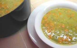 Диетический гороховый суп рецепт