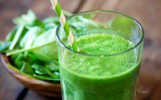 Овощные смузи для похудения рецепты