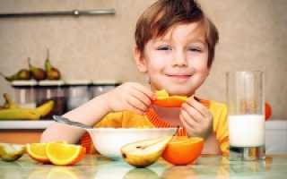 Диета для ребенка 10 лет для похудения