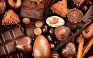 Калории в шоколаде