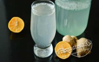 Имбирный напиток для похудения рецепт приготовления