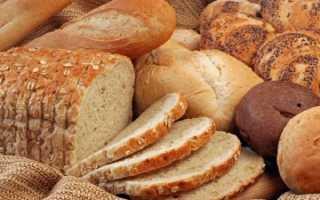 Хлеб черный калорийность на 100 грамм