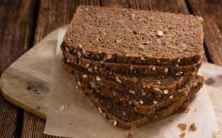 Калорийность ржаного хлеба 1 кусок