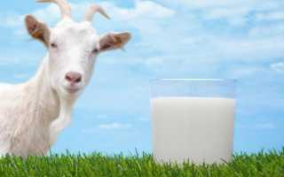 Козье молоко калорийность