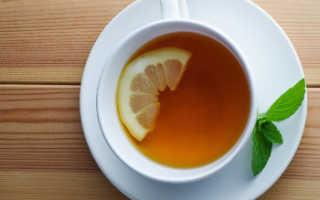 Зеленый чай с лимоном для похудения
