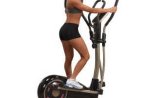 Тренировки на эллипсоиде для похудения программа тренировок